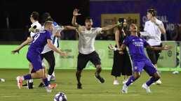 Nani explota de alegría tras ganar el concurso de habilidades de la MLS
