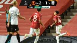 Lingard y Martial sellan el pase de Manchester United ante LASK