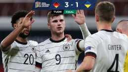 Alemania consigue el liderato de su Grupo tras vencer a Ucrania