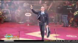 Alejandro Fernández calla sobre la demanda a Luis Miguel