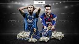 Messi y Cristiano Ronaldo no figuran en Top 10 de los más caros