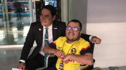 ¡Conoció a su ídolo! Llevamos a Jonathan con Moi Muñoz