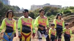 Biby Gaytán muestra su lado más extremo al practicar motocross junto a sus hijos: 'Estoy triunfando'