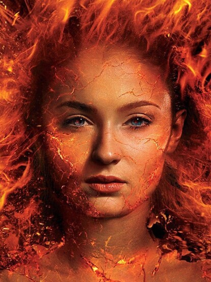Sophie Turner y Jessica Chastain fueron captadas en los reshoots de 'X-Men: Dark Phoenix'