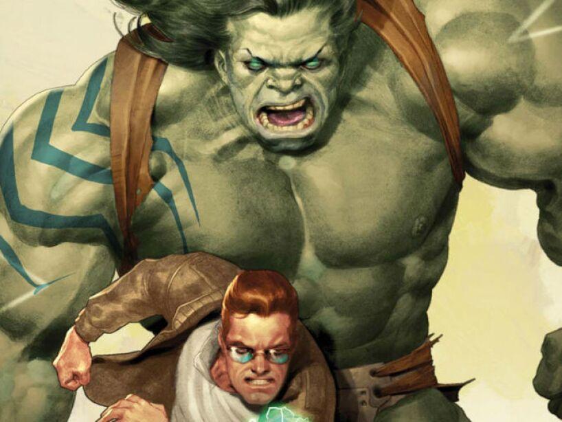 3. Bruce Banner, The Hulk: Una de las mentes más grandes de la Tierra. Experiencia en biología, química, ingeniería y fisiología.