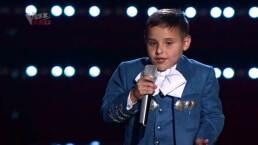 Ponchito Sandoval orgulloso de estar en La Voz Kids