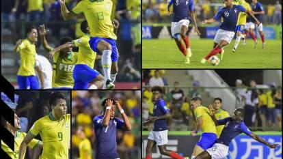 Francia cayó en Brasilia 3-2 ante la verdeamarela que ahora se medirá ante México en la final del torneo.