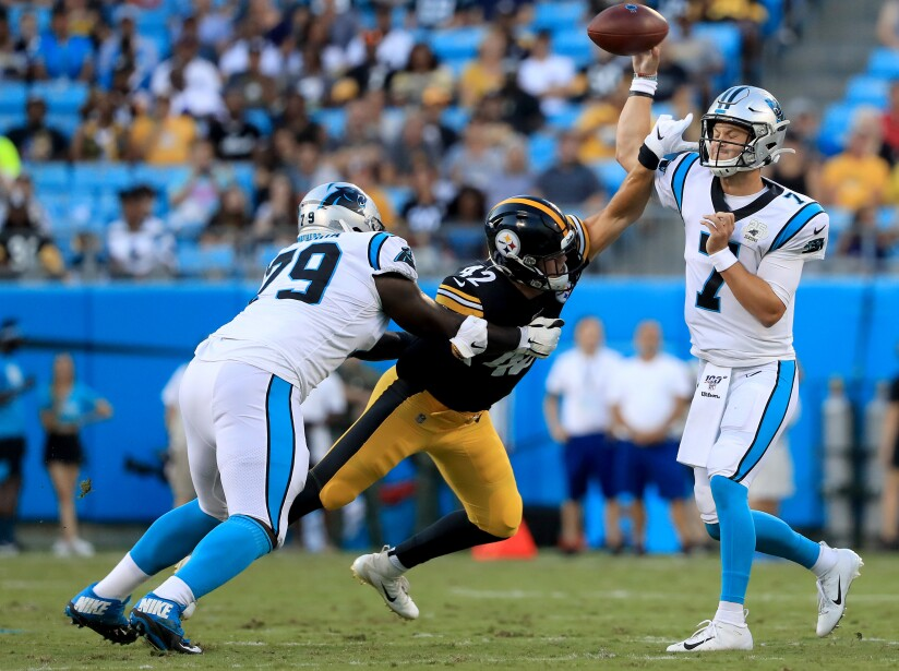 Pittsburgh Steelers v Carolina Panthers