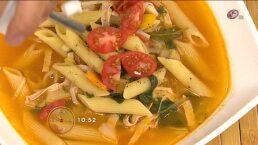 Cocina: Sopa minestrone