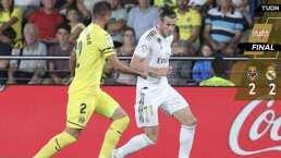 Doblete de Bale en empate del Madrid ante el Villarreal
