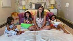 Jacky Bracamontes desea que sus hijas sean empáticas y que nunca duden en ayudar a los demás