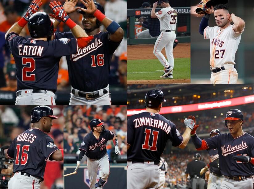Los de Washington continúan su paso perfecto y vencen a los Houston Astros 12-3 en el Minute Maid Park.