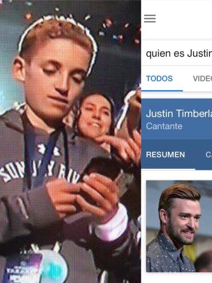 Claramente el #SelfieKid no había nacido cuando Justin ya cantaba con N*Sync.