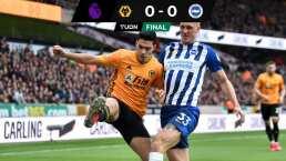 Wolves y Brighton empatan sin goles; Raúl jugó los 90 minutos
