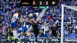 El Betis no pasa del empate ante el Espanyol en Barcelona