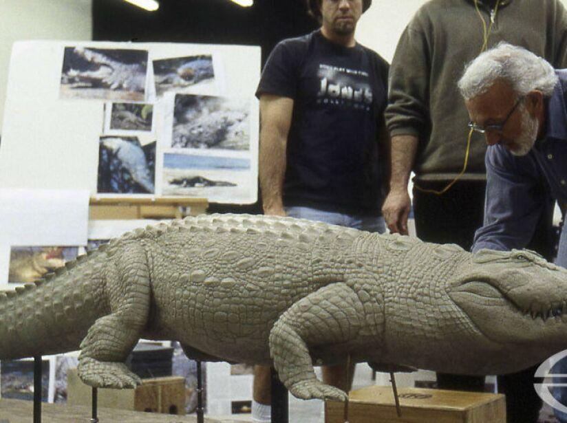 Stan es el responsable del aterrador cocodrilo en la cinta de suspenso Lake Placid, está genial ¿no creen?