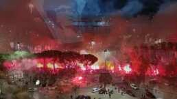 ¡Arde San Paolo por D10S! Estadio del Napoli no olvida a Maradona