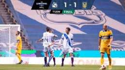 Resumen | Puebla y Tigres se conforman con la igualada 1-1