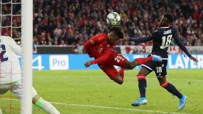 El francés Kingsley Coman abrió el marcador al minuto 34'.