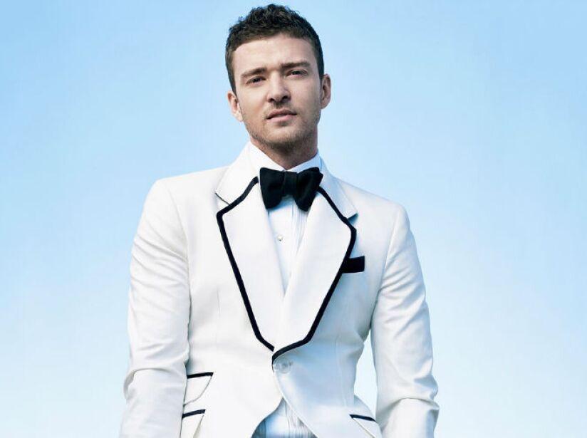 7. Justin Timberlake: Su obsesión por la comida chatarra lo hizo tomarse una foto con los empleados de una cadena.