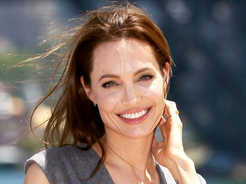 15. Angelina Jolie: Muchos no le perdonan que le haya robado el marido a Jennifer Aniston, el guapo Brad Pitt.