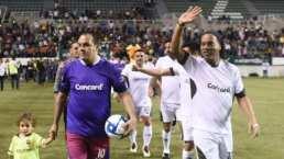 Morelos presenció un duelo histórico entre el 'Cuau' vs Ronaldinho