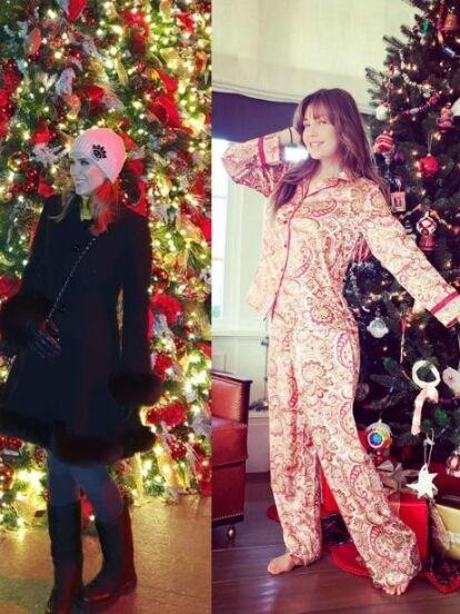 El espíritu navideño ha comenzado a invadir a famosos como Jacky Bracamontes, Thalía y Adamari López, quienes han presumido en redes sociales sus espectaculares árboles de Navidad, así como la decoración de su hogar. ¡Mira las fotos!