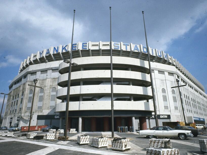 Yankee Stadium 1976