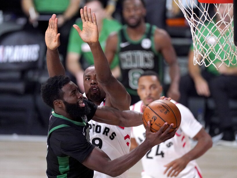 Celtics Raptors Basketball
