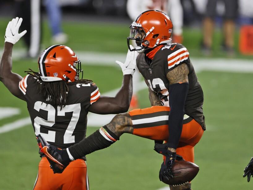 APTOPIX Bengals Browns Football