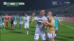 ¡Sigue el idilio de Pumas! 'Cocoliso' hace el 1-0 con cabezazo letal