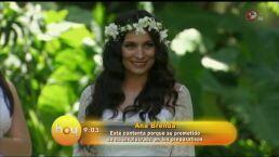 Ana Brenda lista para llegar al altar