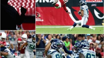 Seattle Seahawks hila su séptimo encuentro sin perder ante los Arizona Cardinals de visita.
