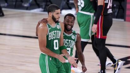 El Miami Heat cayó 117-106 ante los Boston Celtics se ponen 2-1   En el tercer juego de la Final de Conferencia, los de Boston se pusieron a un partido de igualar la serie.   Jayson Tatum, Bam Adebayo y Jaylen Brown fueron los máximos anotadores del partido.