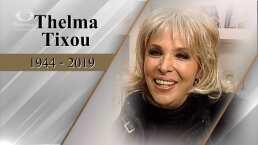 Murió la vedette argentina Thelma Tixou a los 75 años