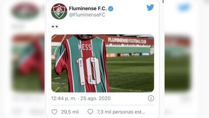 Luego de que se diera a conocer que Lionel Messi no quiere continuar en el Barcelona, las redes sociales explotaron con 'indirectas' de varios clubes hacia el astro argentino.