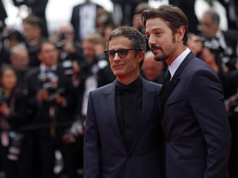 Gael García Bernal y Diego Luna también fueron invitados al estreno de la película.