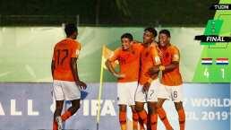 Holanda 4-1 Paraguay - Resumen y Goles- Mundial Sub 17