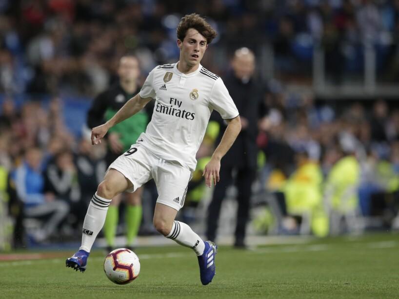 Soccer Real Madrid Odriozola