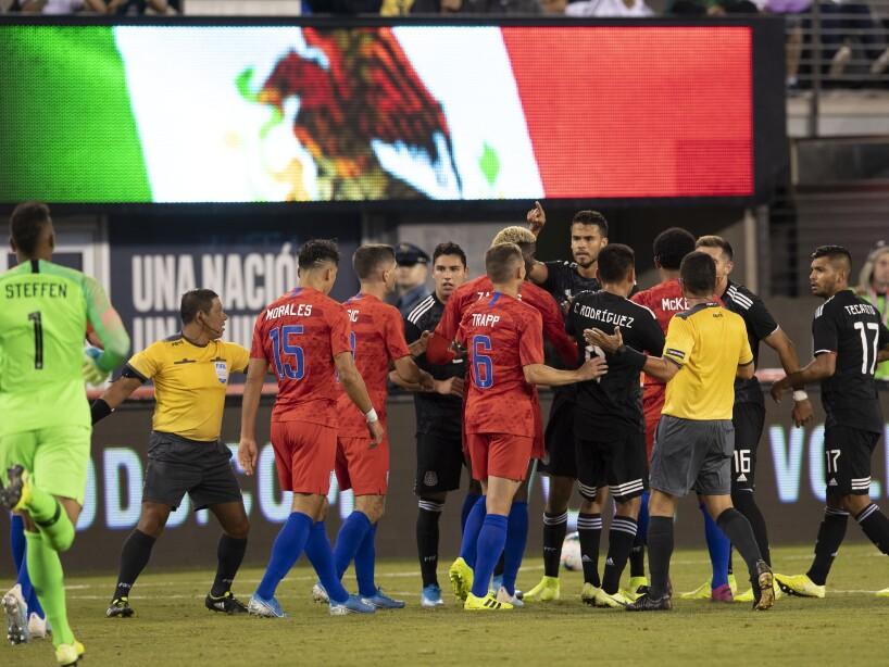 México 3-0 Estados Unidos