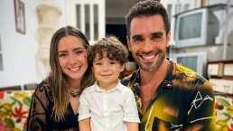 Diego llena de besos a Ariadne Díaz que casi ponen 'celoso' a Marcus Ornellas
