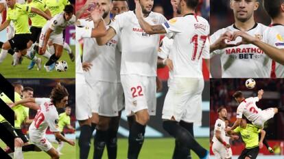 Sevilla golea de visita, suma tres puntos y llega a las 12 unidades posibles.
