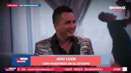 Josi Cuen se siente feliz con la etapa de renovación que vive en su faceta solista