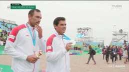 México cae en la final del voleibol de playa