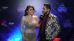 Aldo Franco, de Pequeños Musical, celebró su cumple en los Premios Bandamax