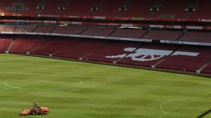 Los Gunners son el primer equipo de la Premier League en regresar a entrenamientos.