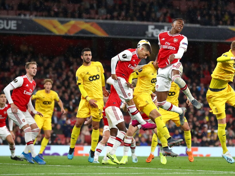 Arsenal FC v Standard Liege: Group F - UEFA Europa League