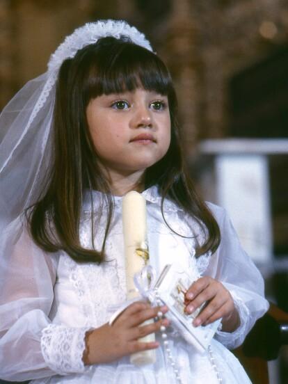En 1998 se estrenó la telenovela 'Gotita de amor', protagonizada por Andrea Lagunes, quien dio vida a la tierna 'Chabelita'. Aunque su carrera como actriz infantil se catapultó tras la producción, desde hace algunos años solo participa en programas unitarios y ahora la actriz reapareció, revelando qué le impidió volver a los melodramas.