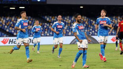 'Chucky' y el Napoli ganaron en la última Jornada de la Serie A   La participación del mexicano en la victoria 3-1 sobre Lazio y más resultados del futbol italiano.