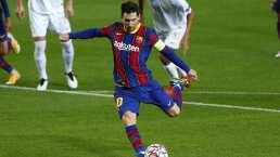Conquista Messi nuevo registro goleador en Champions League